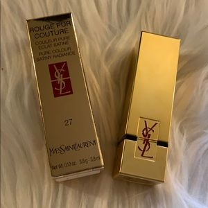 Yves Saint Laurent Makeup - YVES SAINT LAURENT 27 ROUGE PUR COUTURE  LIPSTICK